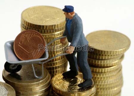 tjeneste handvaerker symbolsk euro mont omkostninger