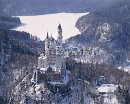 vinter europa bayern sevaerdighed tyskland den