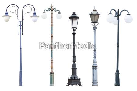 real vintage street lampe indlaeg og