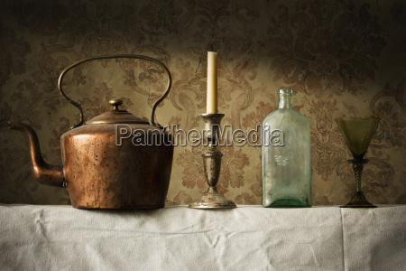 antikke husholdningsartikler