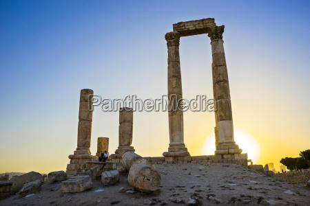 temple of hercules in amman citadel