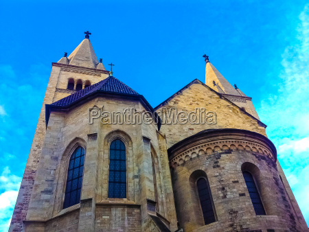 belltower of st george church in