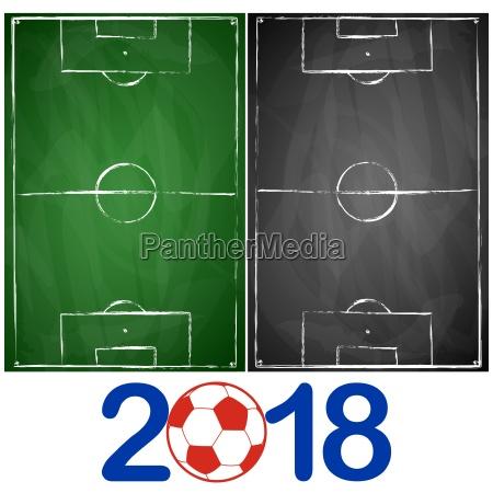 gron og gra sort bord fodboldbaner