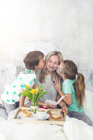 mors dag born overraske deres mor