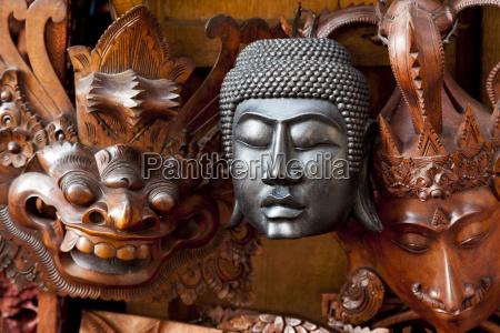 masken buddhistisch und hinduistisch