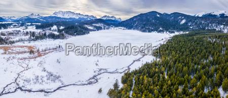 germany bavaria upper bavaria lake barmsee