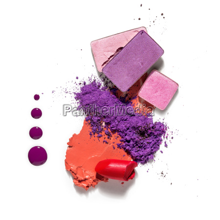 kosmetisk farveprove