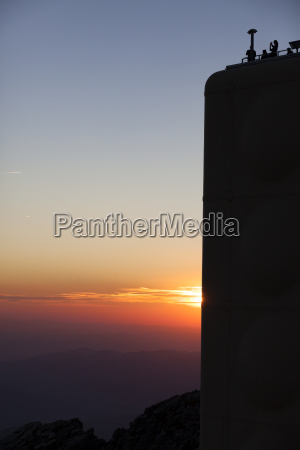 froperspektiv landlig solnedgang alper europa stemning