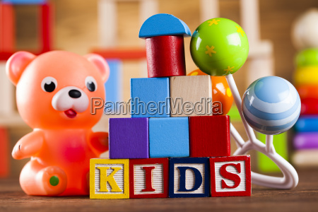 colorful alphabet blocks baby toy