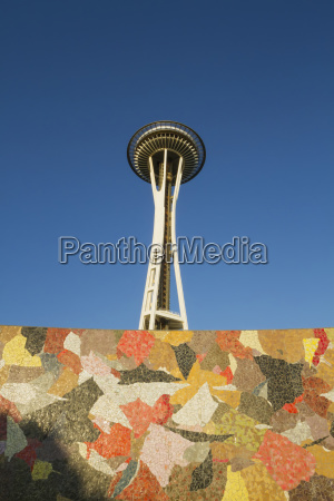 space needle at seattle center seattle