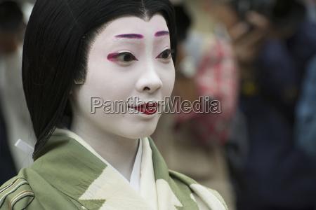 naerbillede portraet en japansk kvinde i