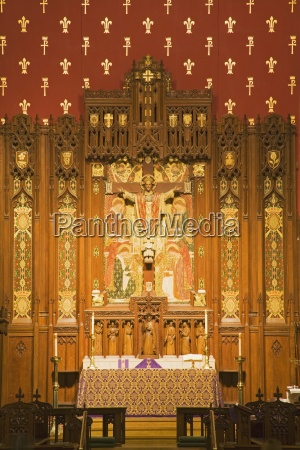altar of st johns church madison