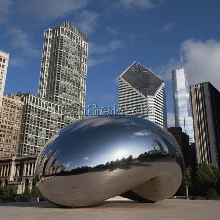 mirror dome chicago illinois usa