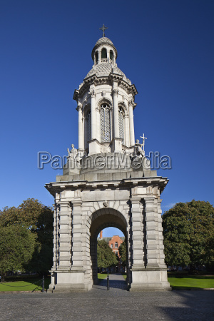 campanile bell tower at trinity college