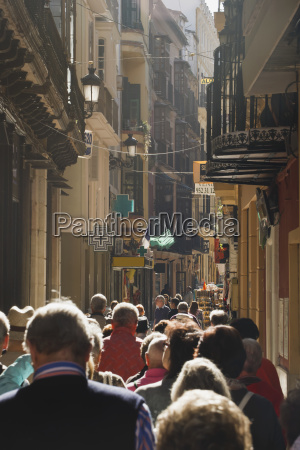andalucia background people pedestrians people in