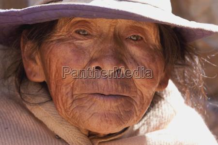 old tarabuco woman jatun yampara indigenous