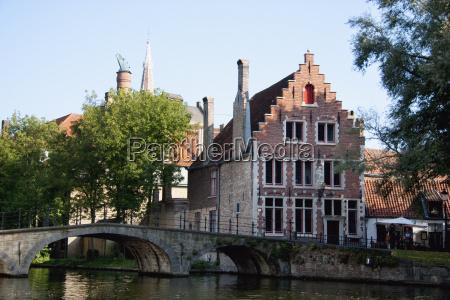bridge over a canal bruges brugge