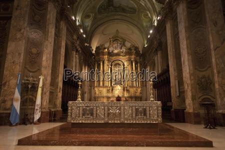 main altarpiece at the metropolitan cathedral