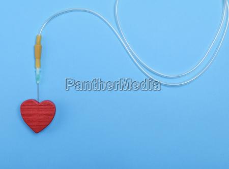 medicinske medicinsk hjerte ror drop tube