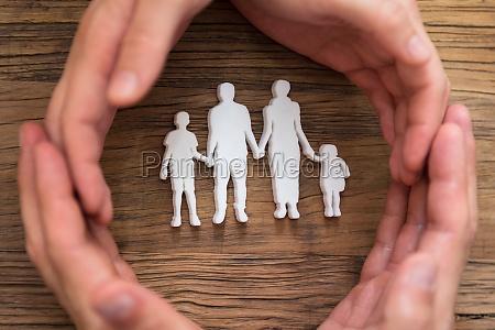 parrets handbeskytter familie figurer