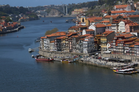 farverige port city porto