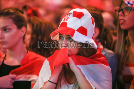 croatian woman fan