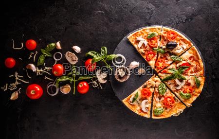 koncept af pizza