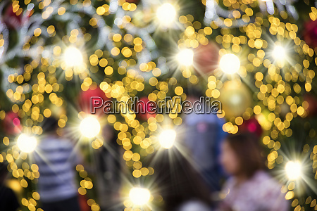 sloret baggrundsbillede af abstrakt juledekoration med