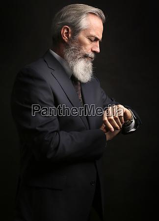 med succes vellykket mode moderigtig mandlig