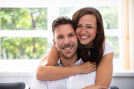 portraet af et godt par