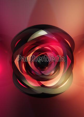 abstract illuminated crisscross pattern