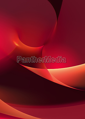 bright red curve abstract backgrounds pattern