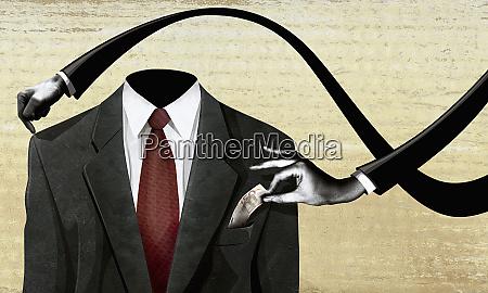 vaben der tager penge fra business