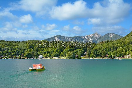 at, lake, klopeiner, see, in, carinthia, austria - 26052799