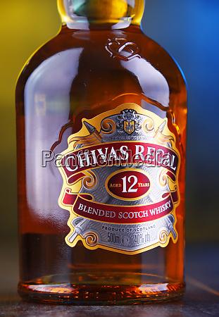 flaske chivas regal 12 blandet skotsk