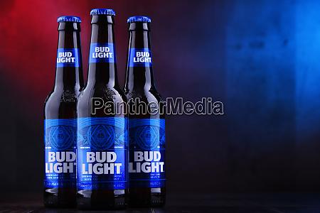 flasker af bud light beer