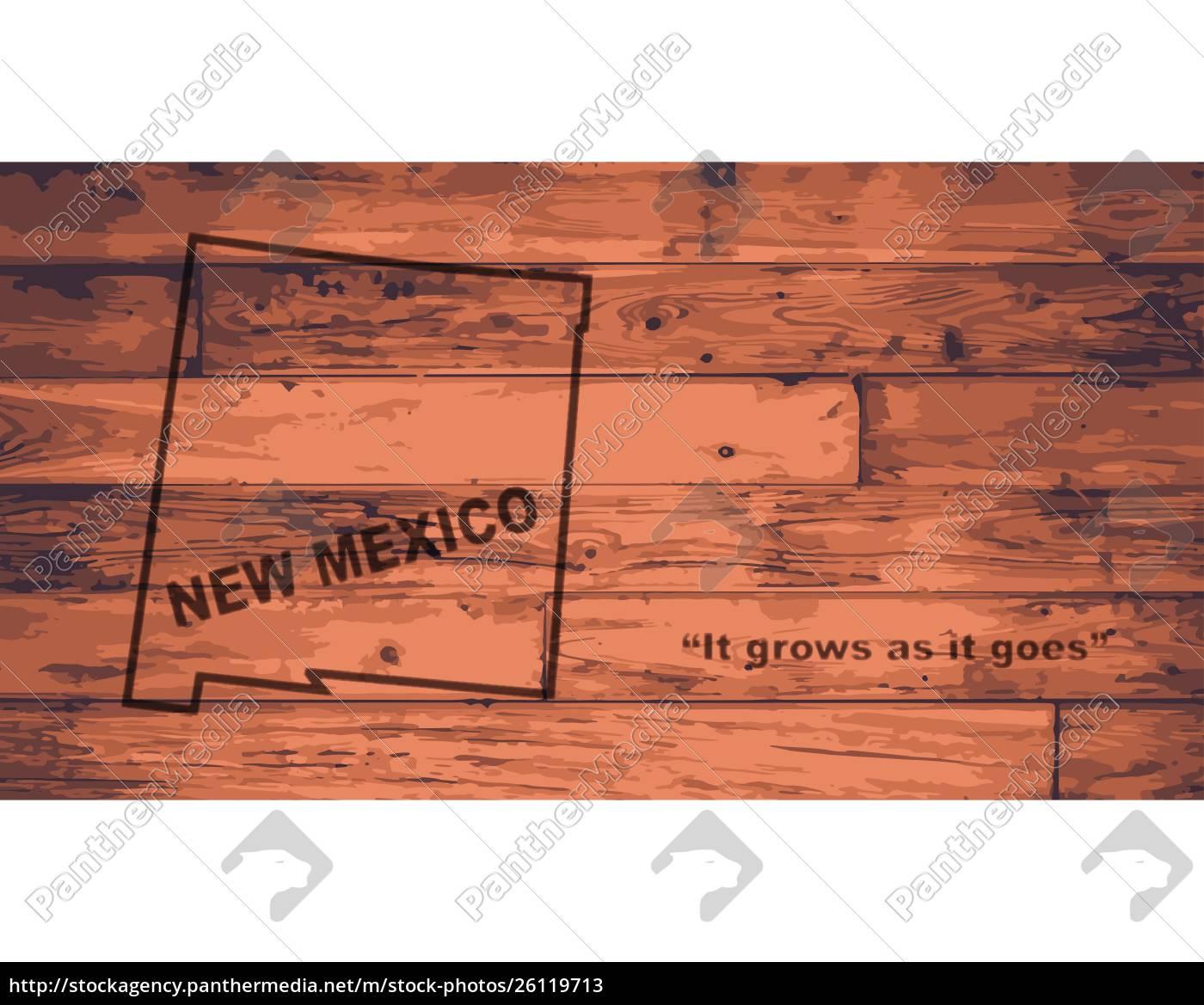 Kort Maerke For New Mexico Stockphoto 26119713 Panthermedia