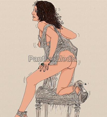 kvinde erotisk raffineret sensuel erotiske steder