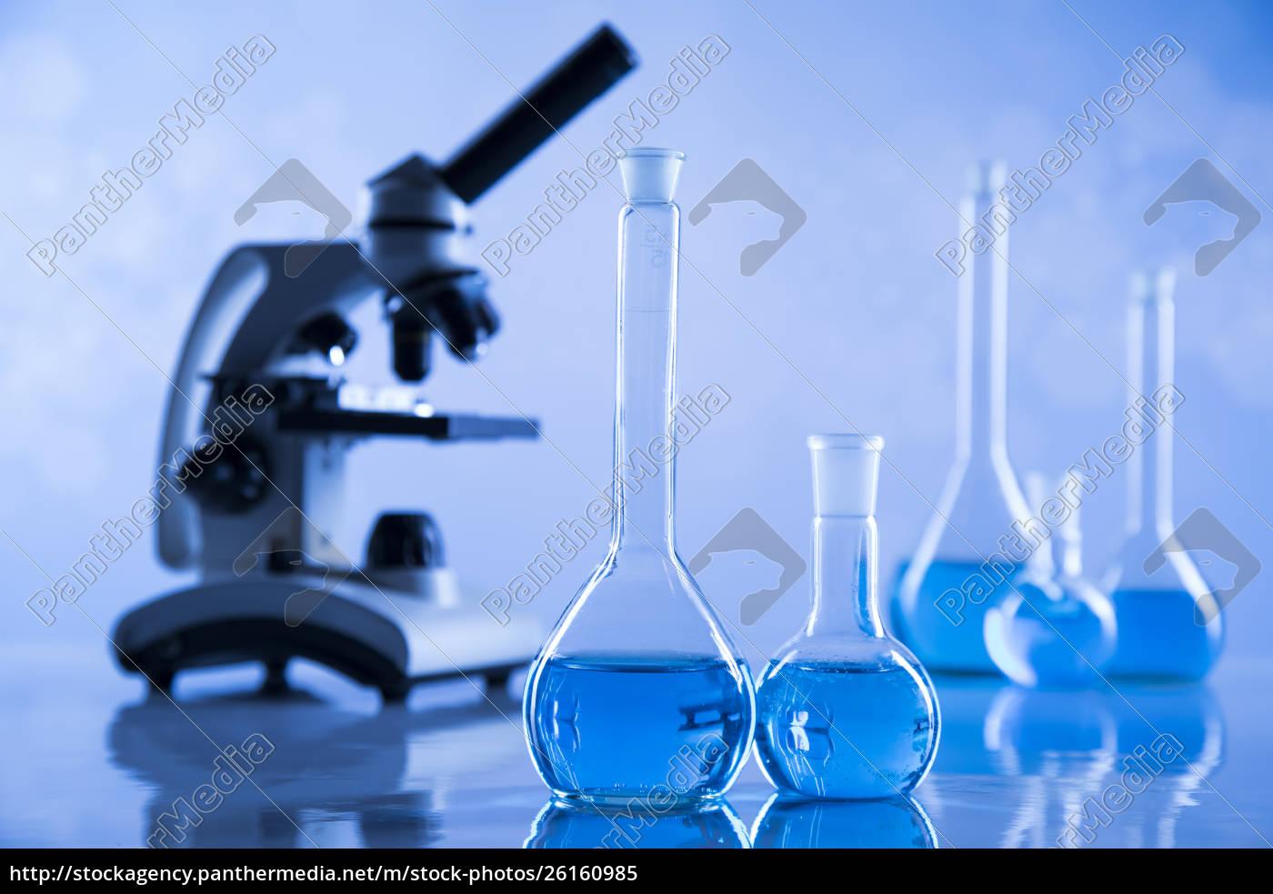 udvikling, videnskabelige, glasvarer, til, kemisk, eksperiment - 26160985