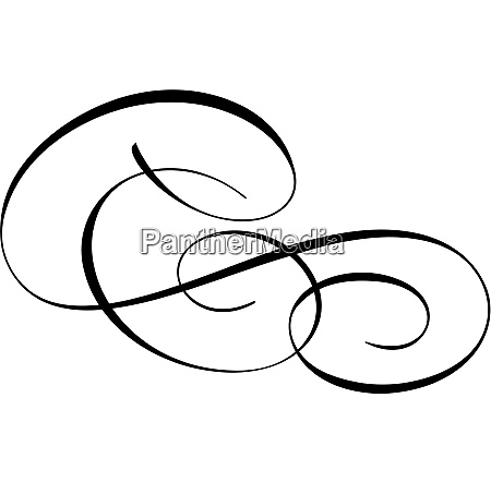 spencerian flourishes accents