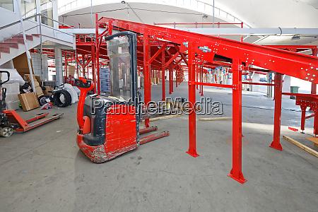 gaffeltruck rampe