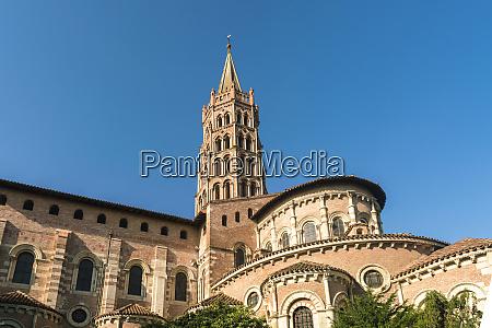 low angle view of basilique saint