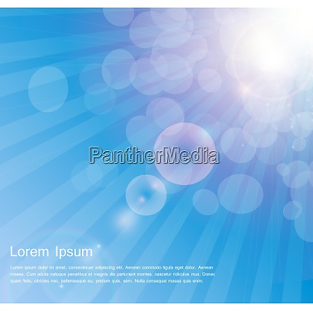 abstract natural sunshine vector illustration background