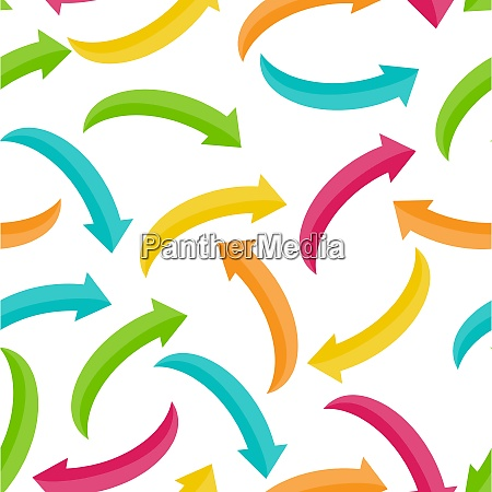 arrow icon sign seamless pattern background