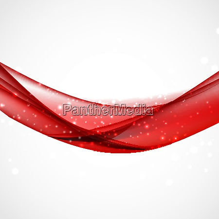 abstract colored wave background vector illustration