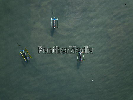 indonesia bali kuta aerial view of