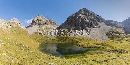 germany bavaria allgaeu allgaeu alps lake