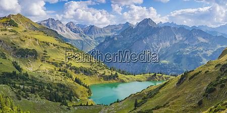 germany bavaria allgaeu alps panoramic view