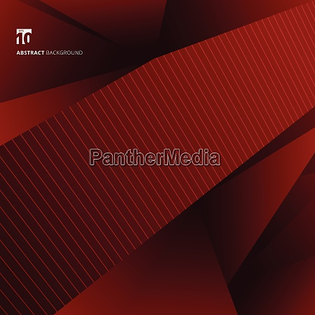 abstract red geometric shapes background and