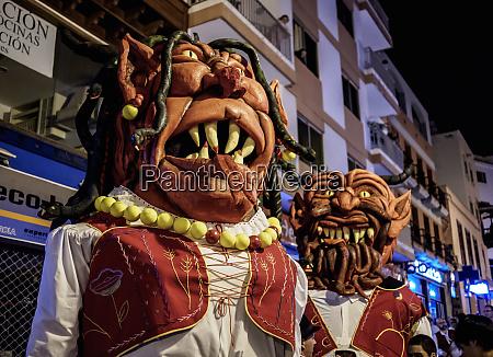 baile de magos traditional street party